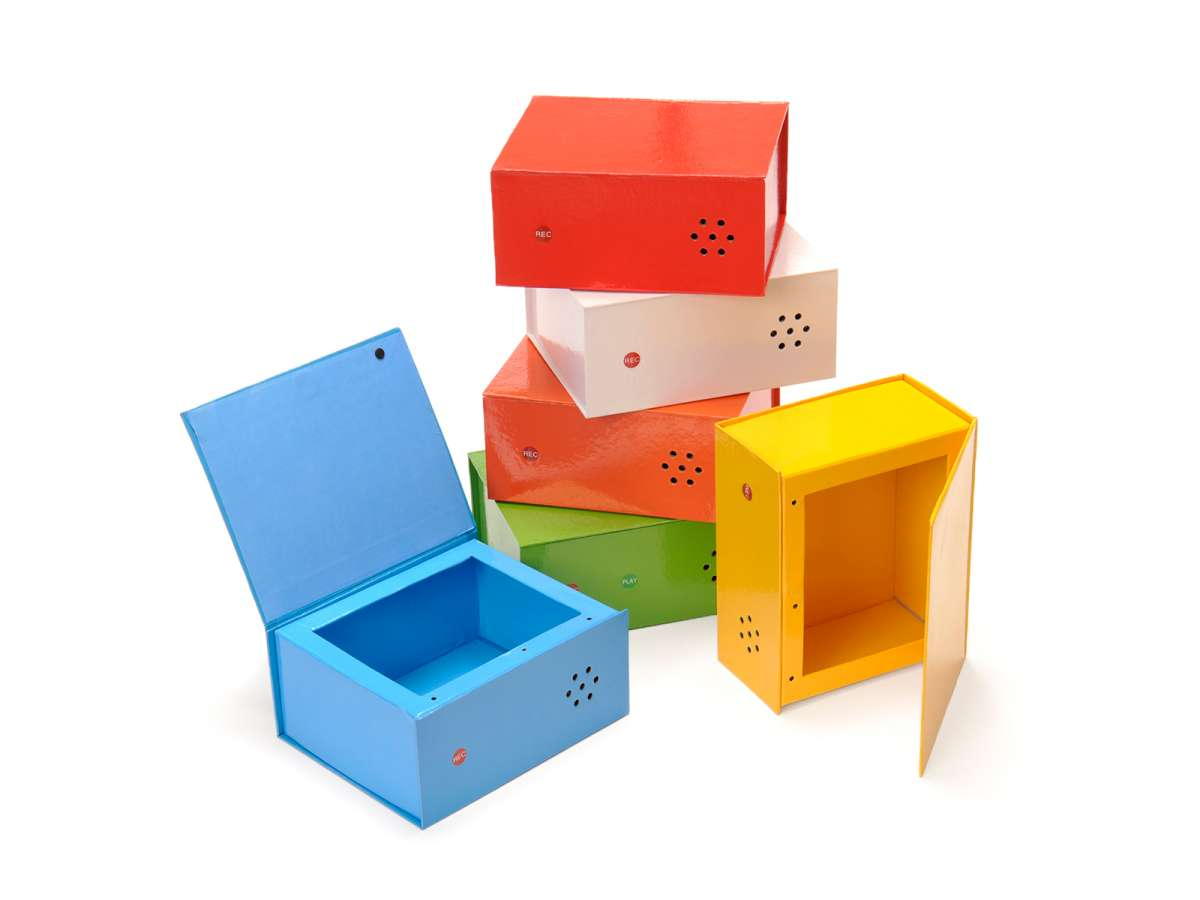 Rainbow Talking Boxes (6 pc.)